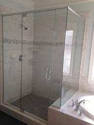 bathroom cool bathroom decorating ideas with frameless glass