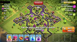 coc map layout th6 the best clash of clans layouts for farming and defense th4 th6