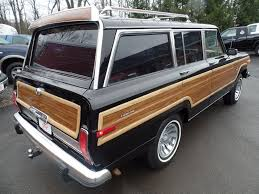 1989 jeep wagoneer 1984 jeep grand wagoneer 4x4 suv for sale in johnstown pa