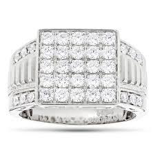 white diamond rings images Designer luxurman rings 14k yellow rose white gold mens diamond jpg