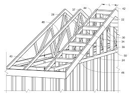 porch roof plans framing a gable roof