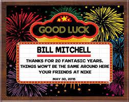 retirement plaque retirement plaque personalized retirement gifts cowboy chuck