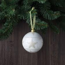set of 12 burgundy and gold bands shatterproof ornaments