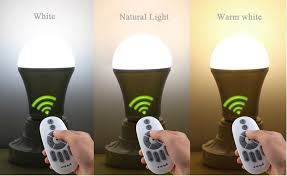 natural light light bulbs e27 6w dimmable white natural white warm white led smart light bulb