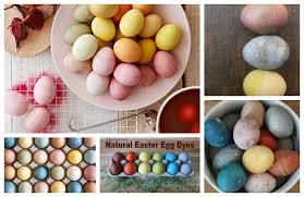 natural easter egg dye recipes showcase wee folk art