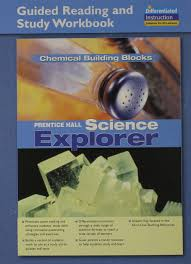 science explorer chemical building blocks guided reading and study