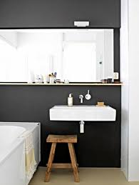 would a horizontal slab mirror look right in your bathroom let u0027s