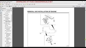 mitsubishi fuso service manual 2002 2003 u0026 2004 youtube