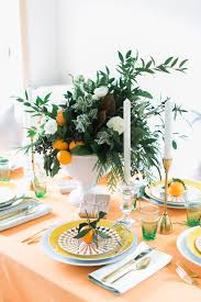 A Very Citrus Christmas Holiday Tabletop By Coco Kelley