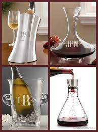 personalized housewarming gifts personalized wine decanters and chillers realtor closing gifts