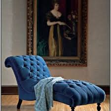 Blue Chaise Lounge Indoor Chaise Lounge Chair Slipcovers Chairs Home Decorating