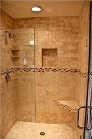 perfect rustic wood walk in shower no door designs collection