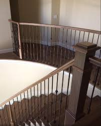 Iron Handrail For Stairs Stair Remodel And Cabinet Remodeling By All Things Interior Martinez
