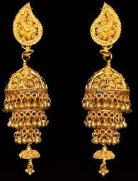 bengali gold earrings gokul handcrafted 22kt gold jewelry