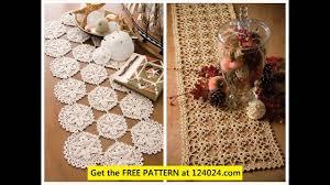 Crochet Table Runner Pattern Crochet Table Runner Patterns For Beginners Youtube