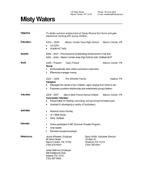 Education On Resume Example by Sample Educational Resume 6 Academic Cv Example Business