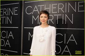carey mulligan u0026 tobey maguire gatsby exhibition opening cocktail