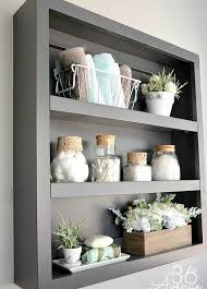 Shelving Units For Bathrooms 26 Simple Bathroom Wall Storage Ideas Shelterness