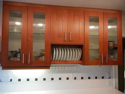 custom glass cabinet doors kitchen custom reed glass cabinet with wooden material so glass