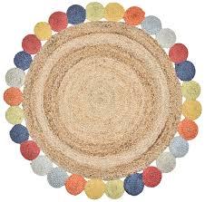 Round Colourful Rugs by Rugs Homewares Matt Blatt