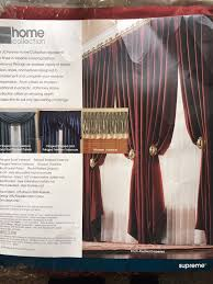 Jcpenney Pinch Pleated Curtains by Jcpenney Home Supreme Burgundy Spicy Red Scarf Valance Braid