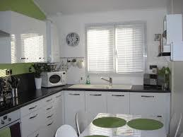 cuisine blanche et verte cuisine verte et blanche cuisine verte et blanche calais