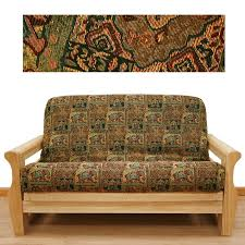 charming futon mattress covers for modern family room design ideas