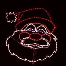 light o rama halloween sequences talking santa led wireframe