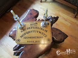 Ouija Board Coffee Table by Cedar House Soaps October 2012