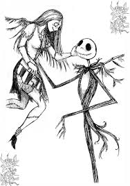 jack and sally my other wing by genkitenshi on deviantart
