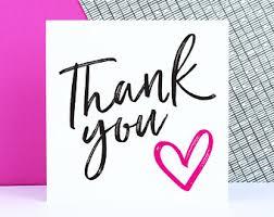 thank you cards bulk thank you cards etsy uk