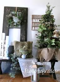decor for the entryway rustic refined