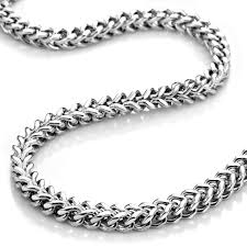 mens chain necklace silver images 58 chain necklace for men grey men 039 s necklaces shop the best jpg
