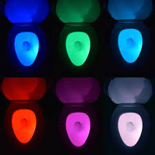 toilet light no more bright lights or accidents the illumibowl motion