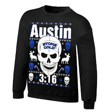 wwe ugly christmas sweater sweatshirts wweshop com