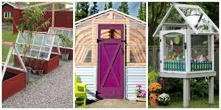 Backyard Greenhouse Designs by 15 Diy Backyard Greenhouses How To Make A Greenhouse