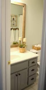 Bathroom Mirror Storage by Best 25 Framed Bathroom Mirrors Ideas On Pinterest Framing A