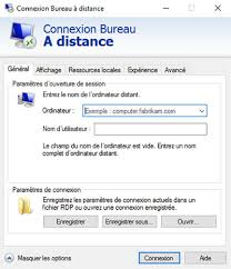 bureau distant windows windows server ou windows connexion bureau à distance cbouba