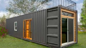 Freedom by Minimalist Homes  Shipping Container House  YouTube