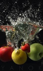 drink splash liquid pour and splash photography technique using continuous