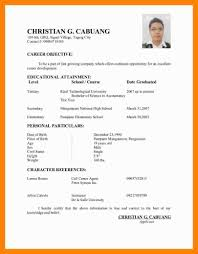 daycare resume examples resume sample philippines simple frizzigame 6 applicant resume sample filipino day care receipts