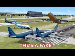Air Force One Meme - fsx multiplayer trolling multiple air force one impostors steam