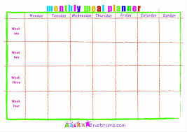 template a master meal planner with this template myfitnesspal