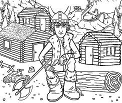 viking ship coloring page gronckle following hiccup sailing with viking ship in how to train