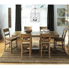 bar height dining room table sets high tables furniture white