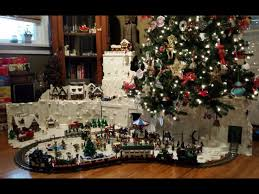 awesome lego christmas tree village a different approach to the