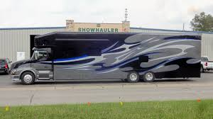 Motorhome Garages Showhauler Unit 1519 2016 Volvo Motorhome W Garage Showhauler