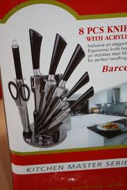 swiss koch kitchen collection 1 set of knifes in 8 parts swiss koch type barc