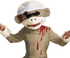sock monkey costume sock monkey costume i brain zombies
