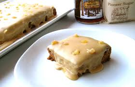 maple frosting maple ginger snacking cake with maple frosting laurie sadowski